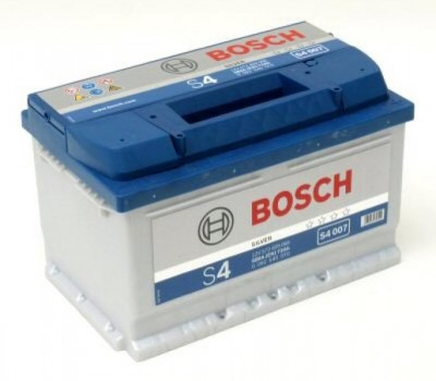 Autobaterie BOSCH S4 008 74Ah 680A 12V  0 092 S40 080