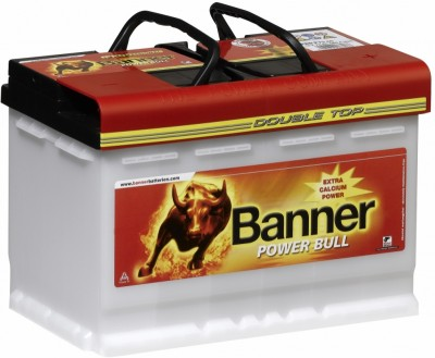 Autobaterie Banner Power Bull Professional 12V 75Ah 680A  P7540
