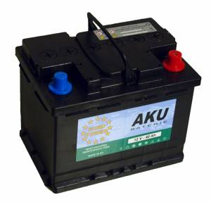 Autobaterie EURO POWER 40Ah 340A  akce