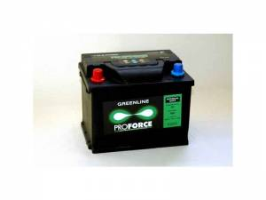 Autobaterie Proforce Greenline 55Ah 480A + pol vlevo