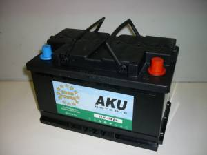 Autobaterie EURO POWER 55Ah 420A